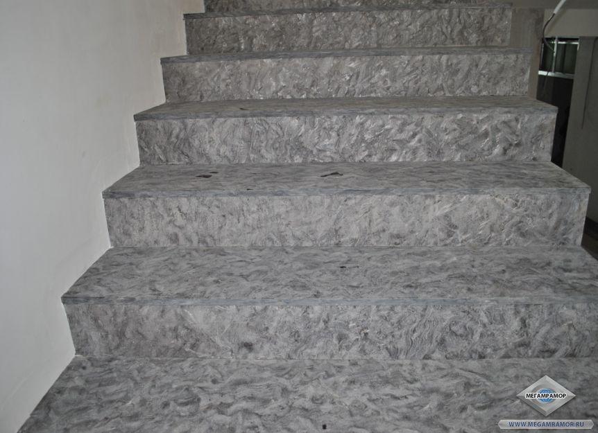 Лестница из гранита Матрикс