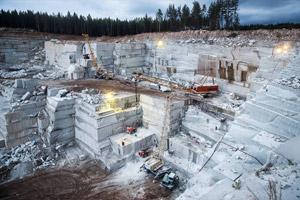 Новость: В ноябре 2015 объем добычи природного камня в РФ вырос на 38%