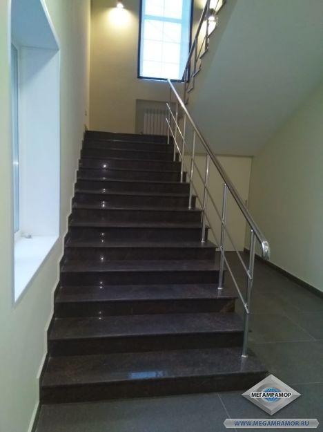 Прямой вид на лестницу